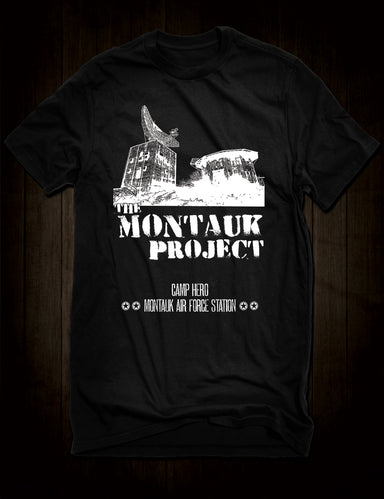 The Montauk Project T-Shirt Conspiracy Theory