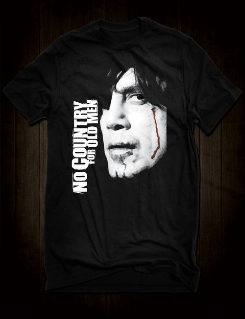 Javier Bardem No Country For Old Men Movie T-Shirt