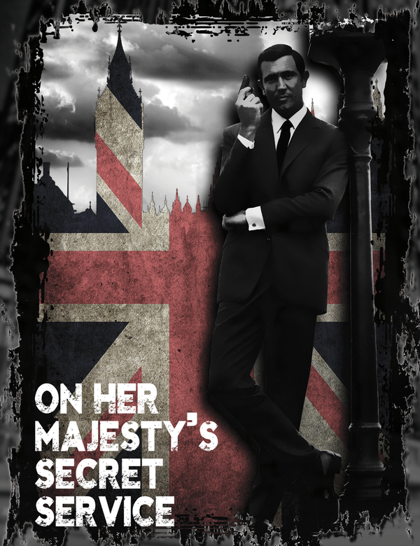 On Her Majesty's Secret Service James Bond T-Shirt