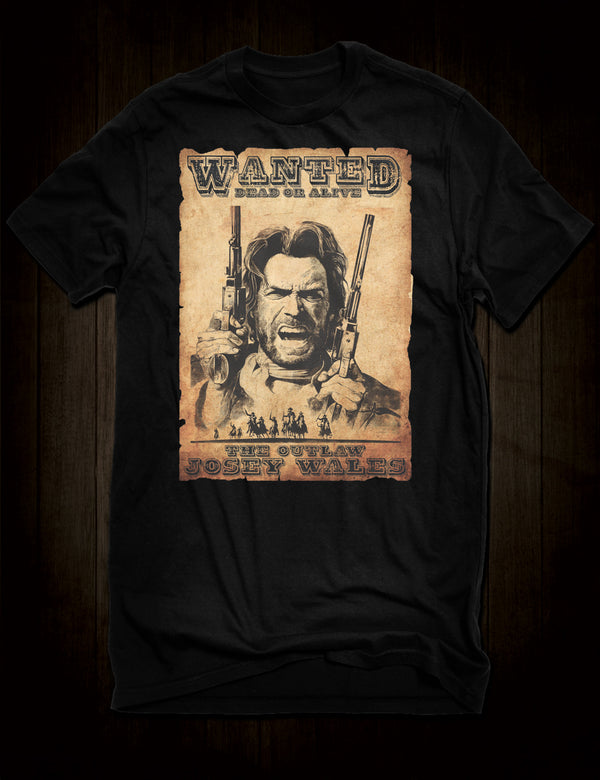 Classic Western The Outlaw Josey Wales T-Shirt