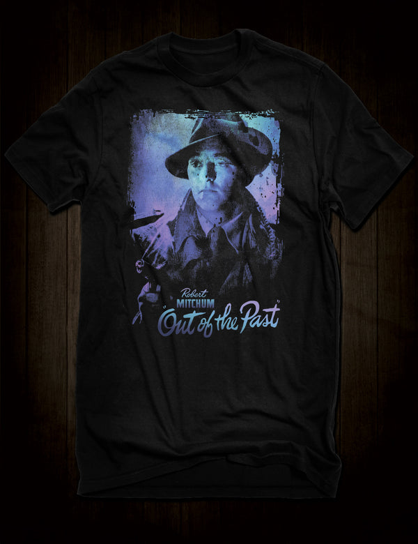 Robert Mitchum Film Noir Out Of The Past T-Shirt