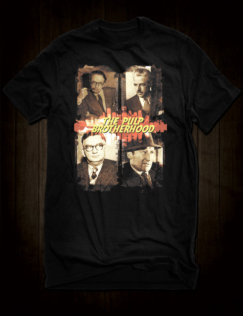 Famous Pulp Fiction Writers T-Shirt