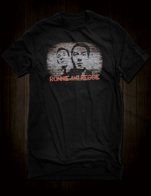 Ronnie And Reggie Kray T-Shirt