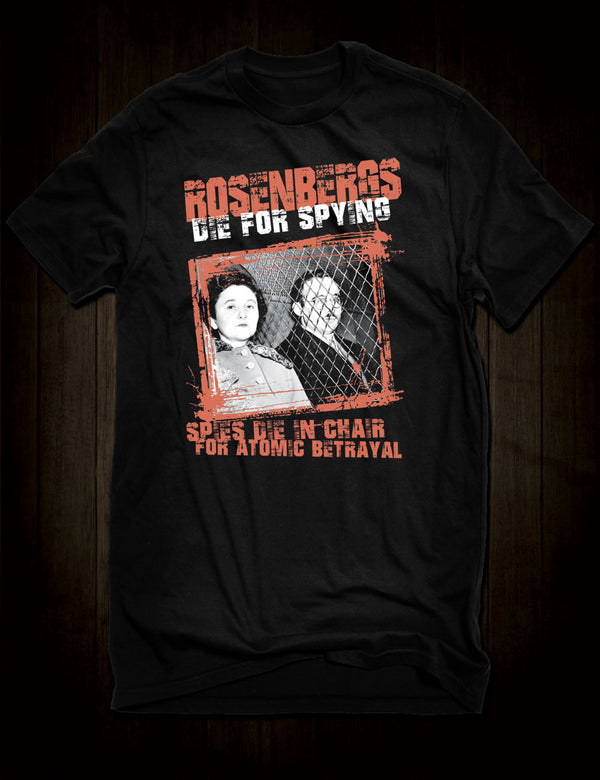 Julius And Ethel Rosenberg T-Shirt