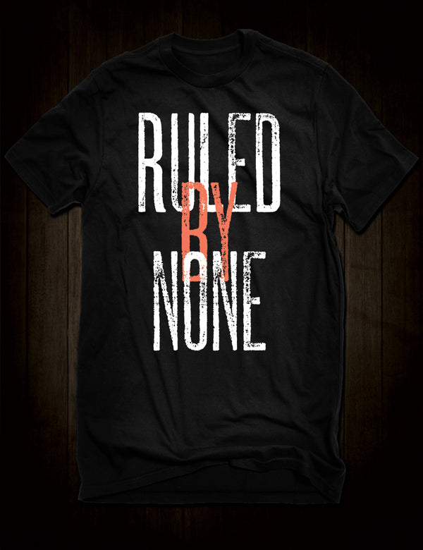 Ruled By None Sex Pistols T-Shirt