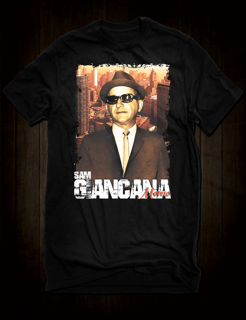 Sam Giancana Mobster T-Shirt