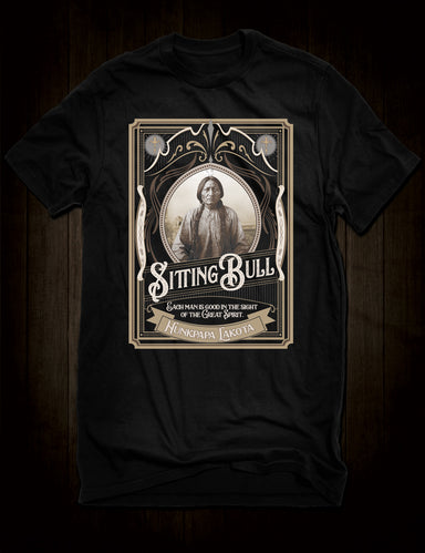 Indian Chief Sitting Bull T-Shirt