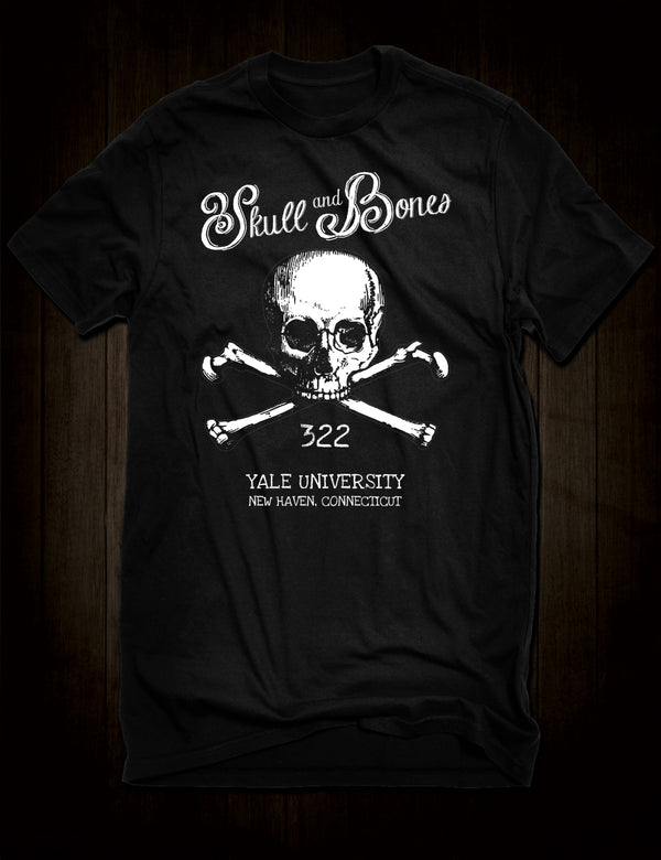 Skull And Bones Society T-Shirt Yale University