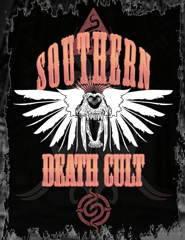 Southern Death Cult Tee Design
