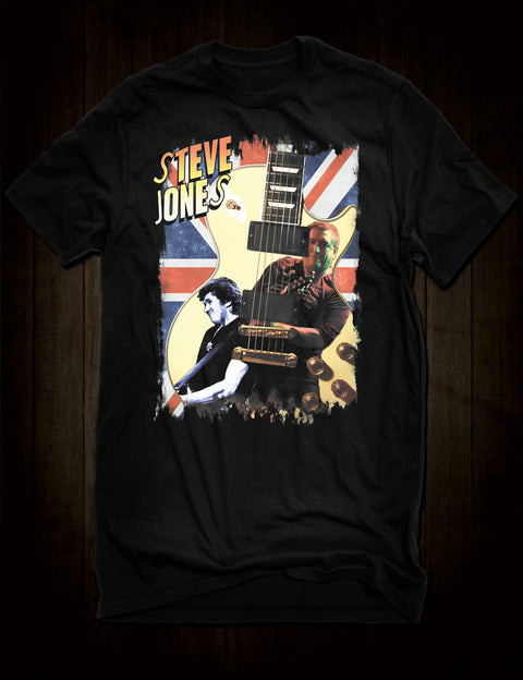 Steve Jones Guitar Hero T-Shirt