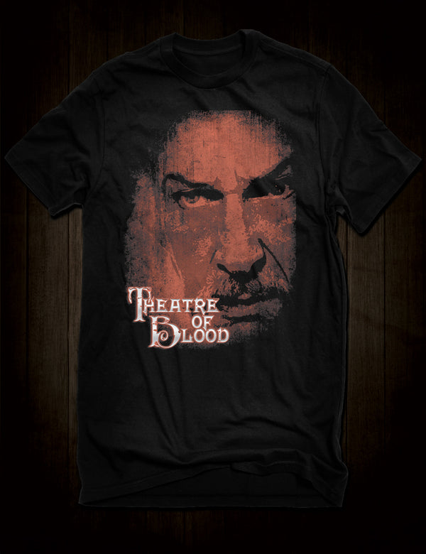 Vincent Price Theatre Of Blood T-Shirt