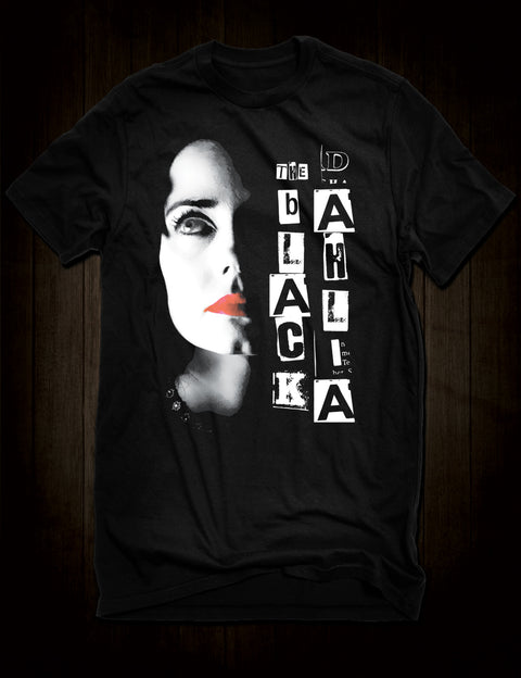 James Ellroy The Black Dahlia T-Shirt