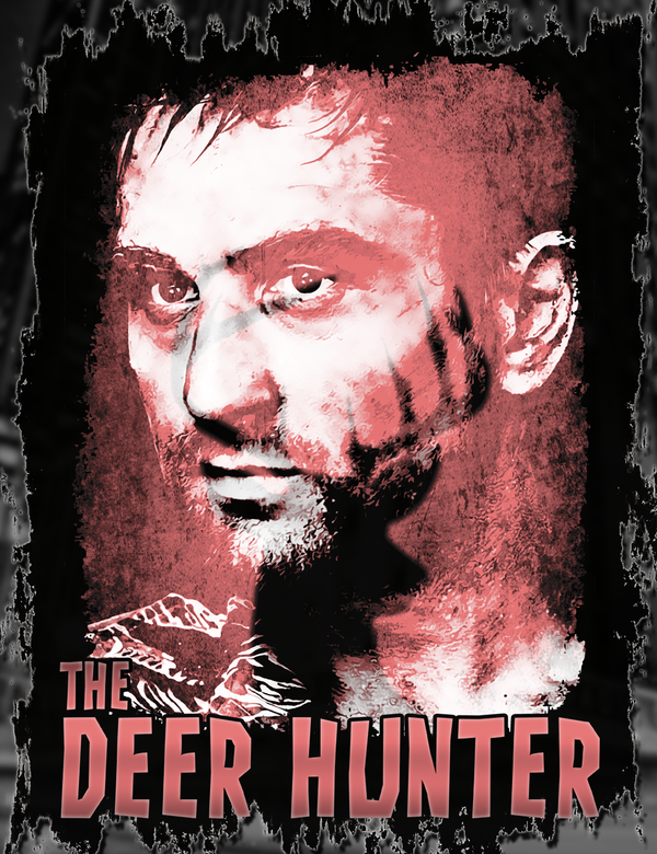 The Deer Hunter Tee Design