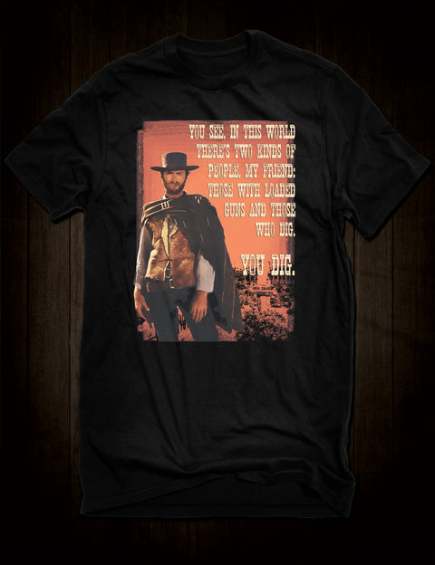 The Good The Bad And The Ugly T-Shirt Clint Eastwood