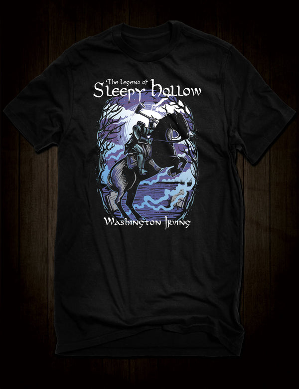 The Legend Of Sleepy Hollow T-Shirt Washington Irving