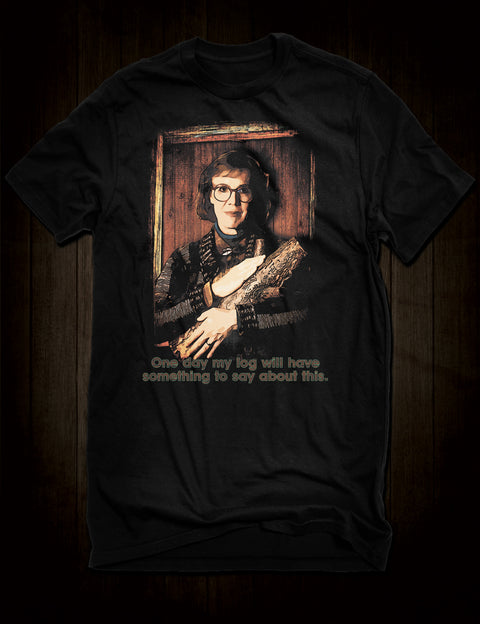 David Lynch Twin Peaks T-Shirt Log Lady