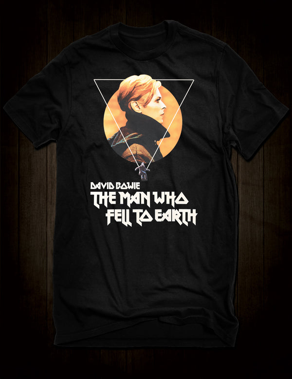 David Bowie The Man Who Fell To Earth T-Shirt