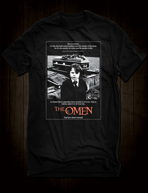 The Omen Horror Movie Poster T-Shirt