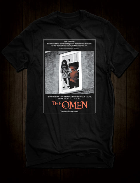 The Omen Horror Movie Poster T-Shirt Nanny