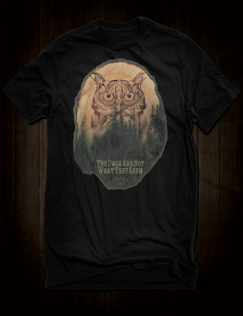 Twin Peaks - The Owls Are Not What They Seem T-Shirt