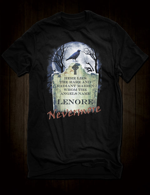 Edgar Allan Poe's The Raven T-Shirt
