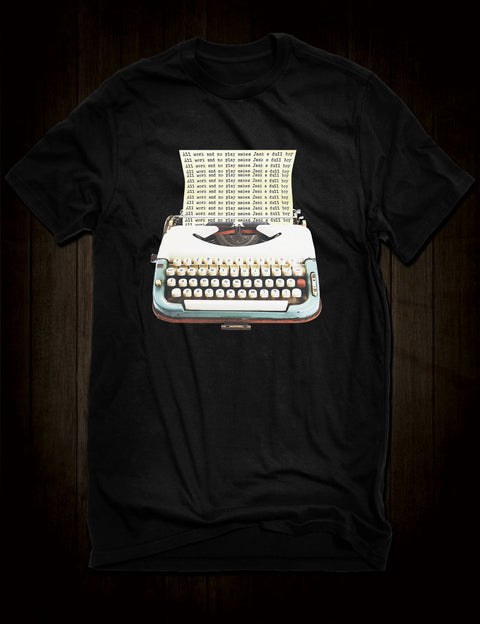 The Shining Typewriter T-Shirt