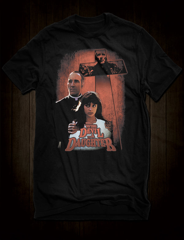Hammer Horror Movie To The Devil A Daughter T-Shirt