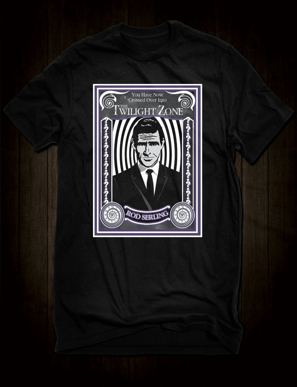 Rod Serling Twilight Zone T-Shirt