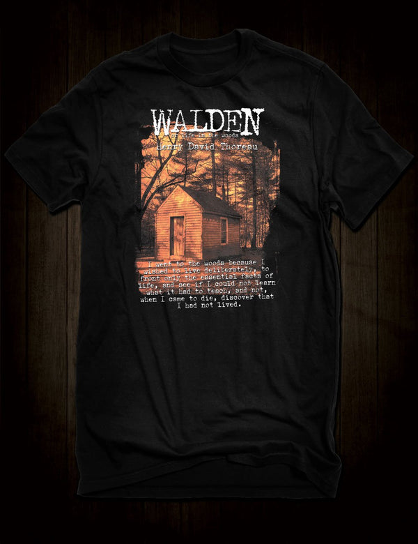 Thoreau Walden T-Shirt