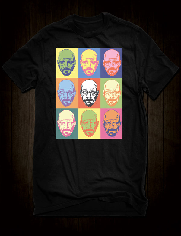 Pop Art Heisenberg T-Shirt Breaking Bad