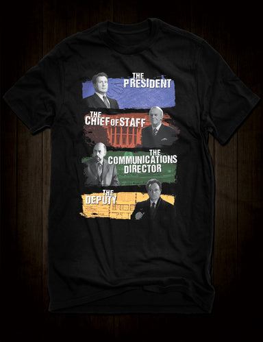 The West Wing Cult TV Character T-Shirt