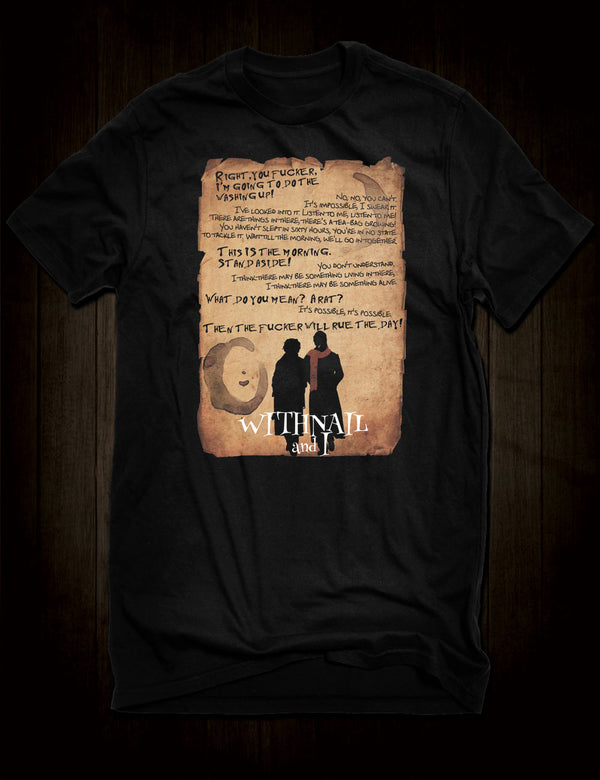 Withnail and I Quote T-Shirt