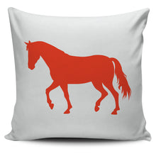 solid and elegant horse pillow covers