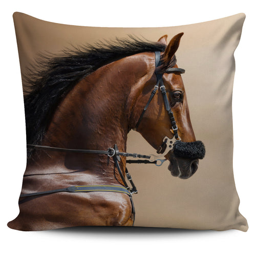 sports stallion pillow cover