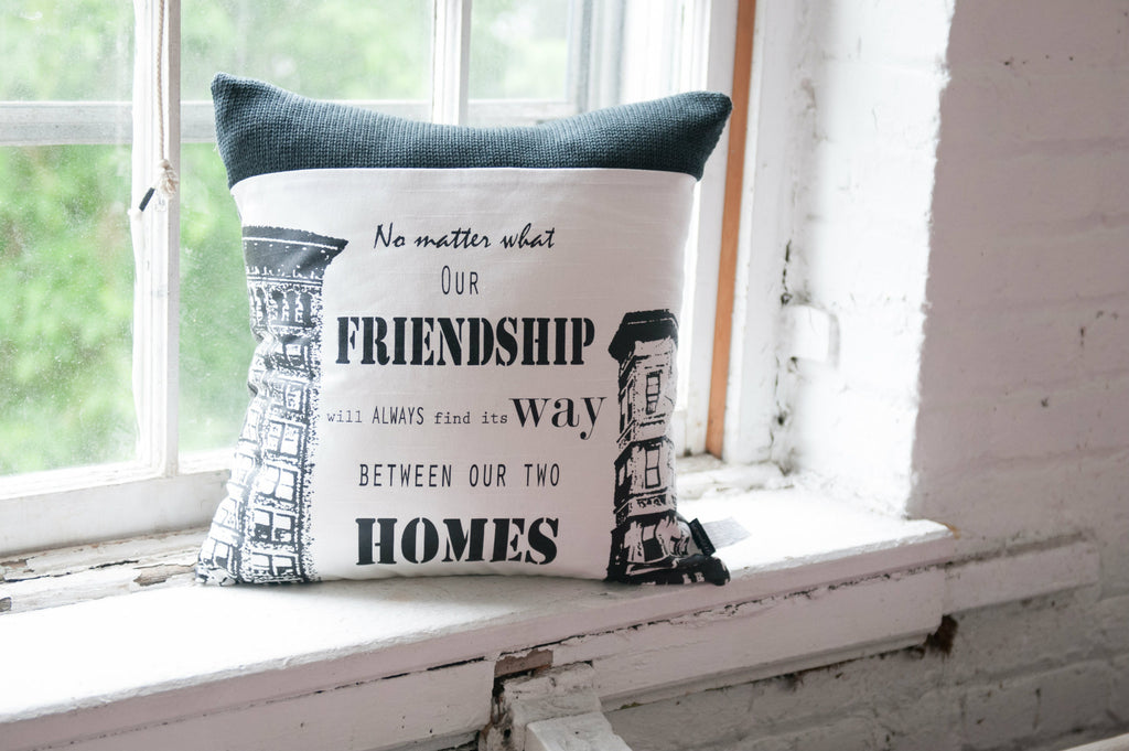 "Coussin / Pillow ""Friendship"""