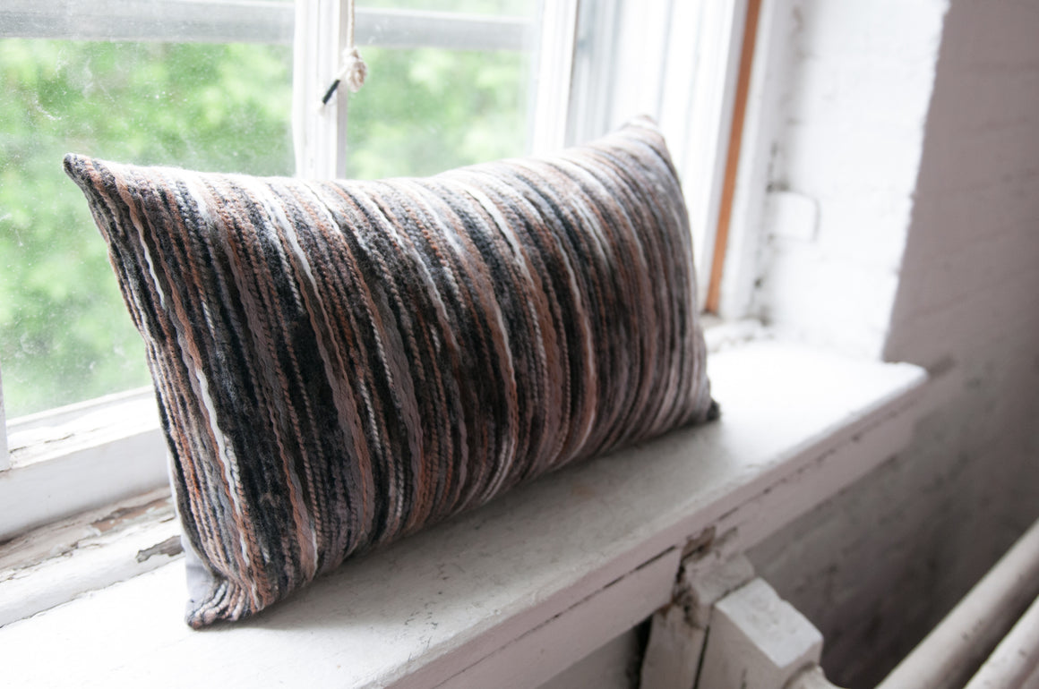 Coussin lainage mixte / mix wool pillow