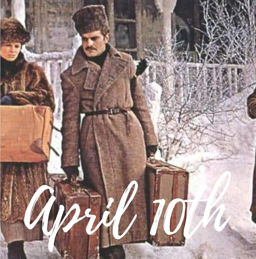 April TENTH (Jd) the Day of DARING: