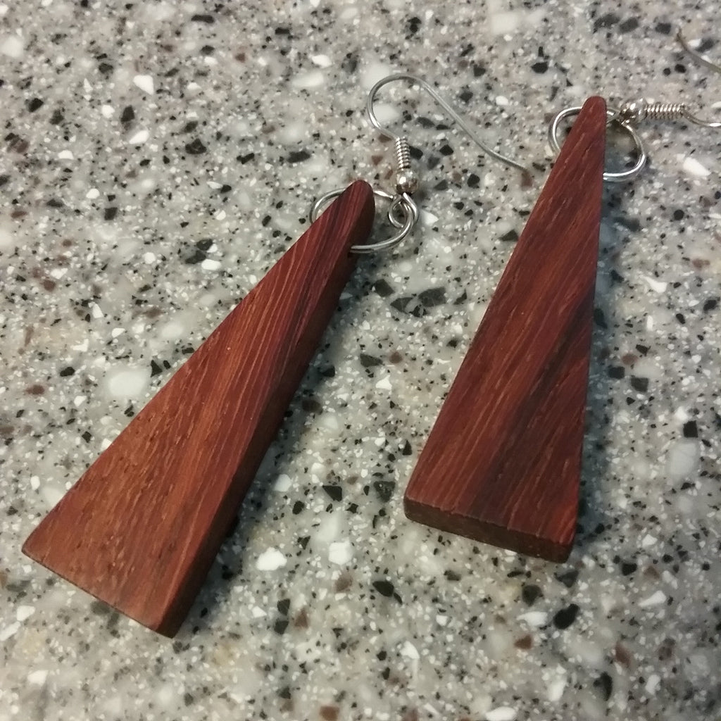 Padauk Wood Earrings