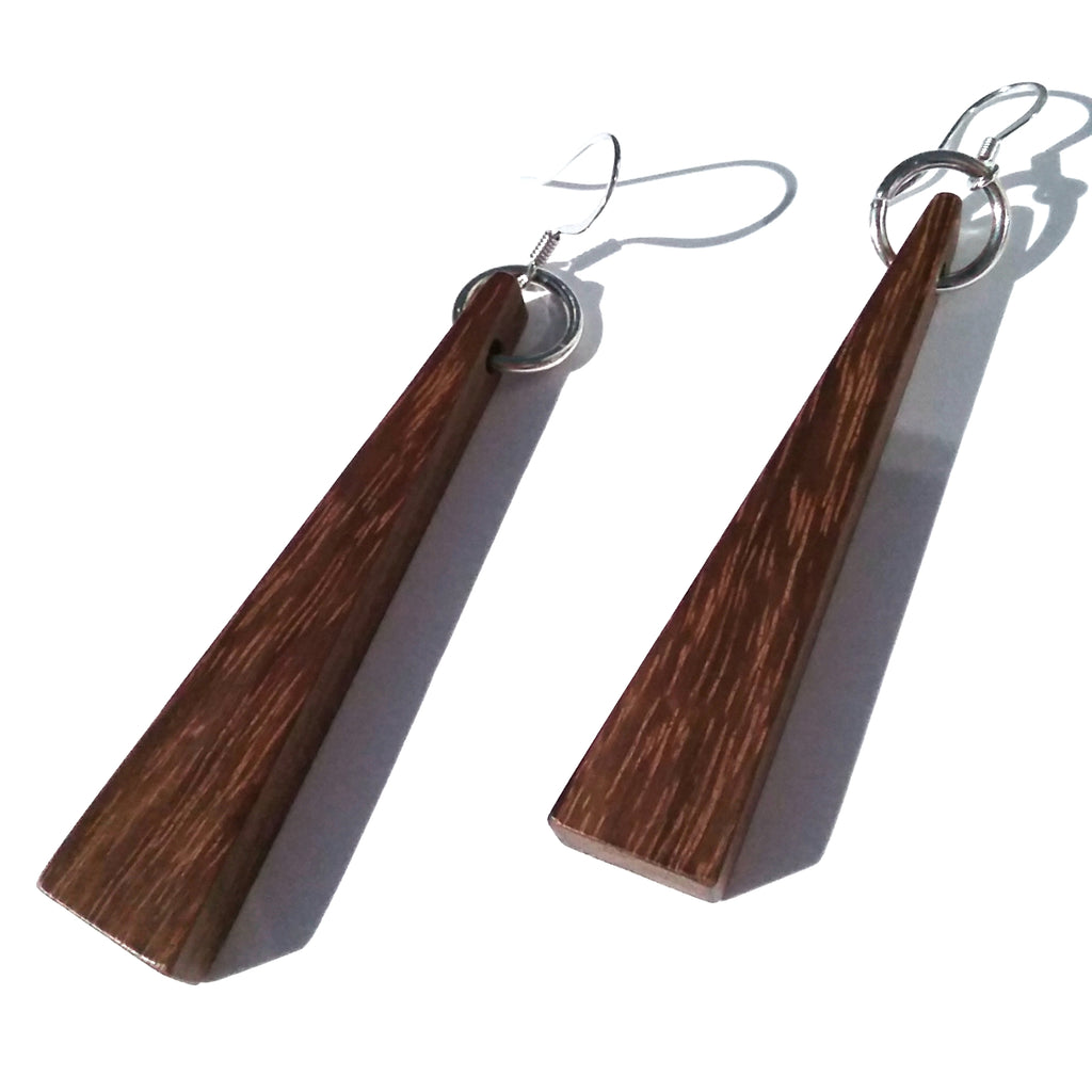 Granadillo Wood Earrings