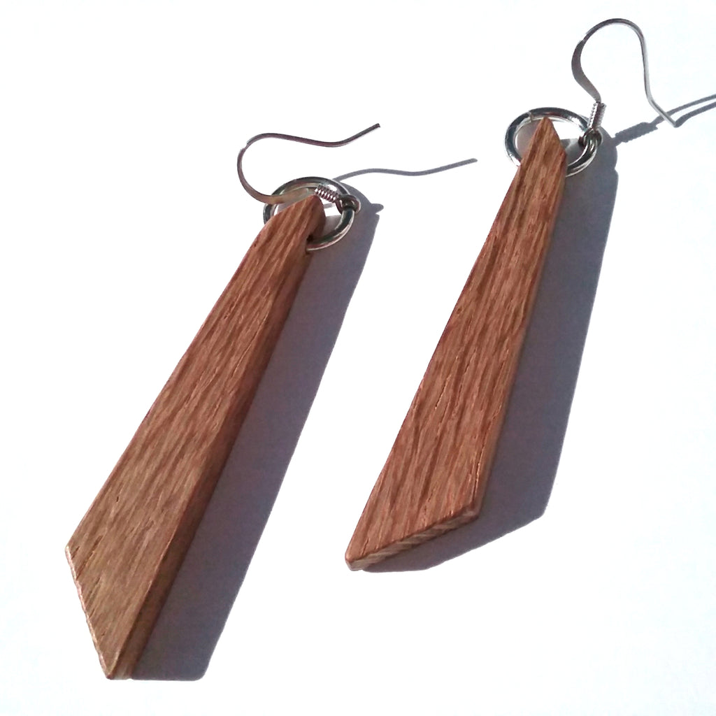 Lacewood Wood Earrings
