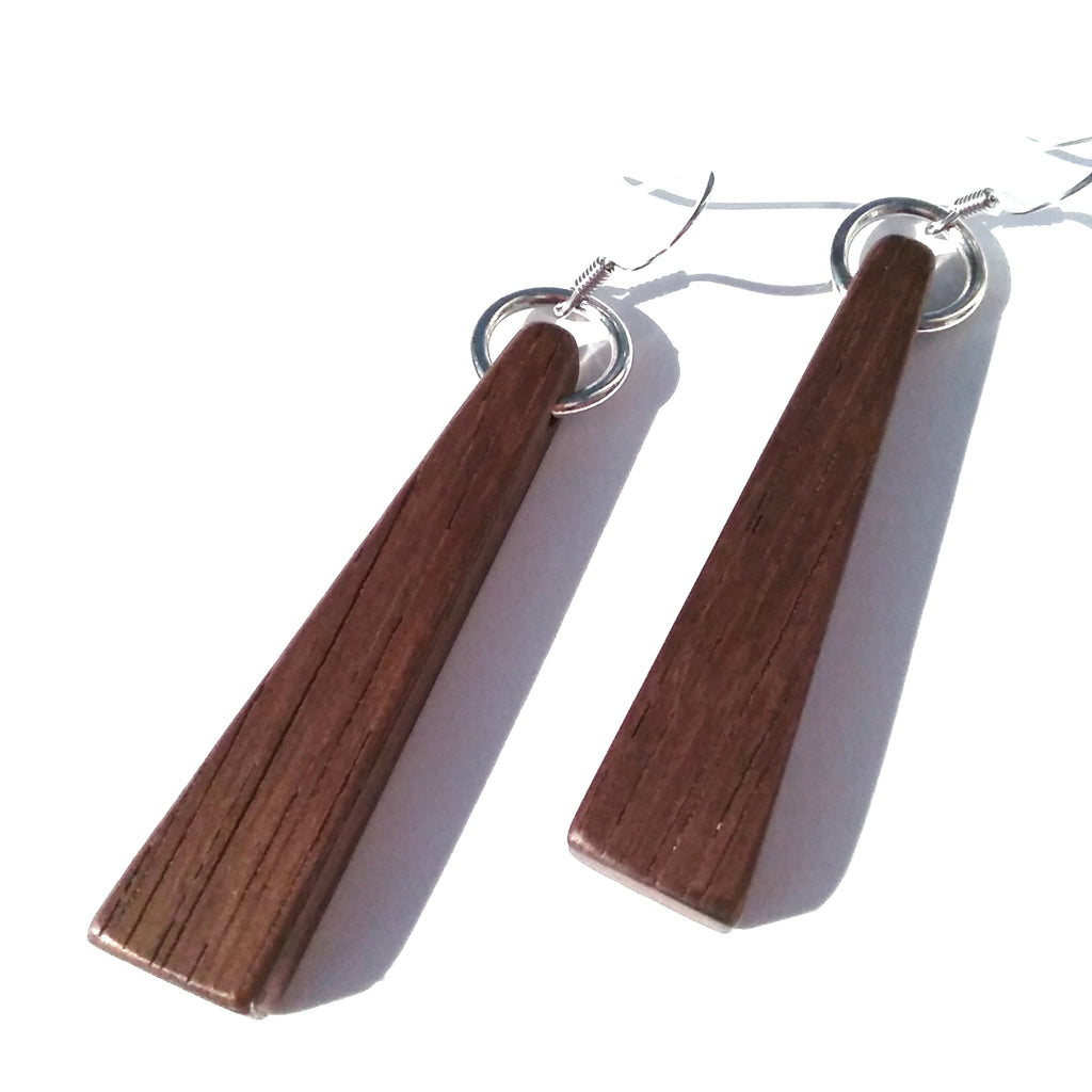Peruvian Walnut Wood Earrings