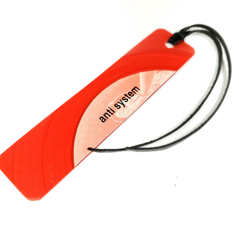 Red Vinyl Record Bookmark