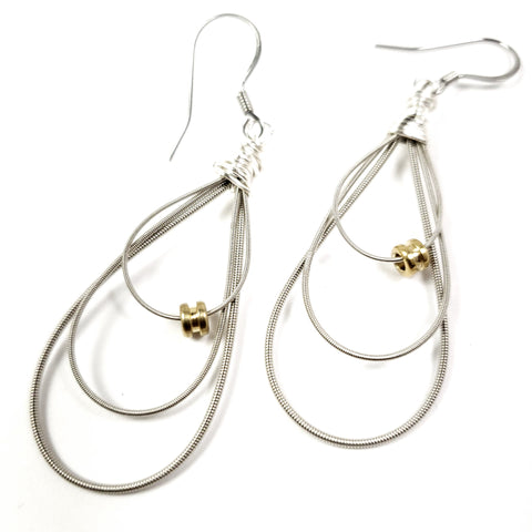 Guitar String Earrings