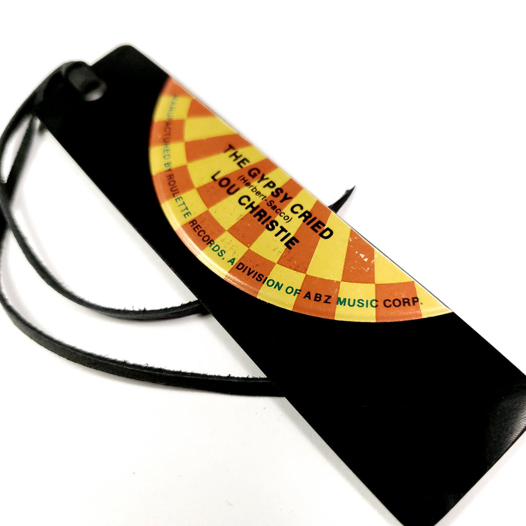 Vinyl Record Bookmark