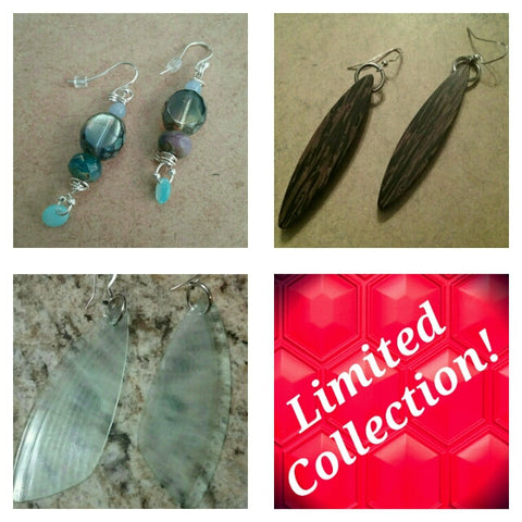 Handmade Earrings, Limited Offer
