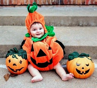 Quick Ideas for Celebrating Baby's First Halloween
