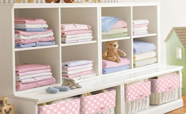 5 Tips To Organize Your Baby's Clothes
