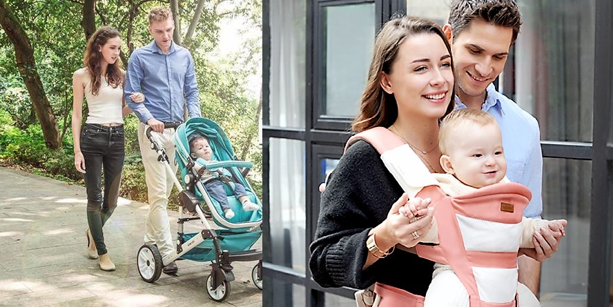 A Stroller or a Baby Carrier: Points to Consider While Choosing