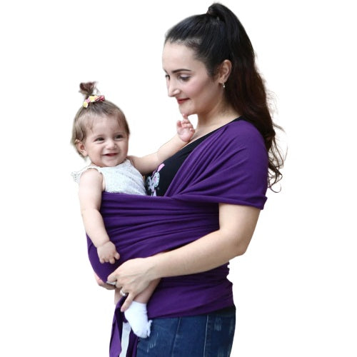 Stretchy Baby Wrap vs Wear like a T-Shirt Baby Carrier