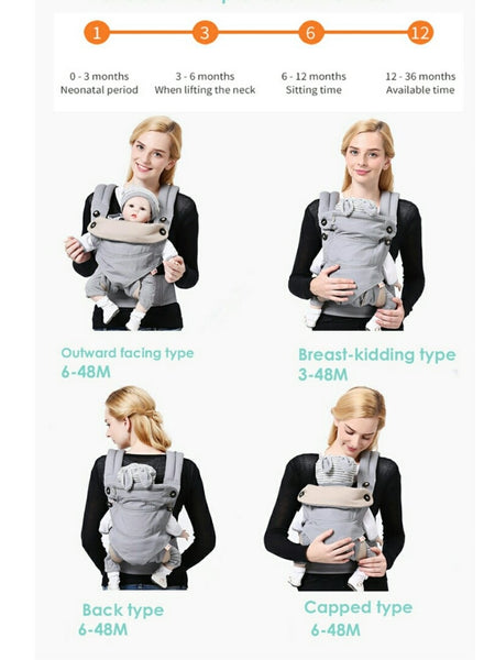 Baby Carrier | Ergonomic Baby Carrier | Baby Sling
